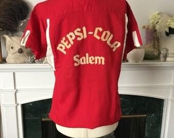 Pepsi 50s Bowling Team shirt