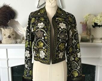 50s Embroidered Ethnic Jacket