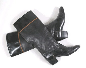 1980 Pollini tall Boots euro36 us5 made in Italy