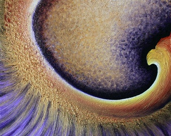 "Original Abstract Painting ""Iris"""