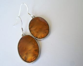 Copper Style, Copper Earrings, Metal Earrings, Antique Style, Boho Style, Bohemian, Hippie, Hipster, Minimalist, Minimalism,