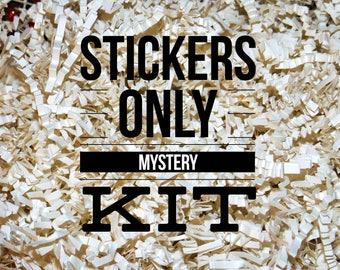 Sticker ONLY mystery kit