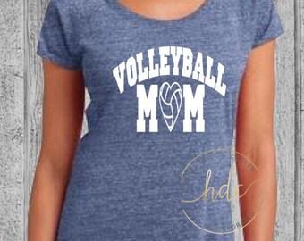 Volleyball Mom Shirt/Womens Volleyball/Mom Life/Mom Shirt/Volleyball/Mom Volleyball/Womens Scoop Tee