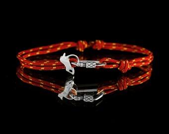 RockClimbing bracelet carabiner and вelay device