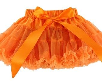 Orange Fall Pettiskirt - Thanksgiving Pettiskirt