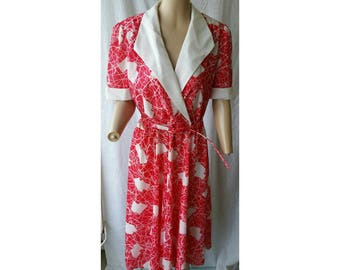 NEW PRICE! Plus Size 1960s Dress