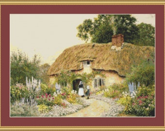 A Devon Cottage Cross Stitch Pattern