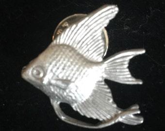 Pewter Fish Pin