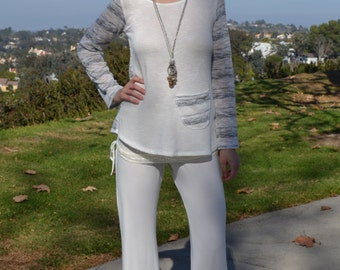 SALE Bell Bottoms in Ivory