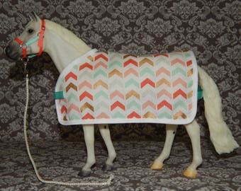 Blanket & Halter Set for Traditional Size Model or Breyer Horse