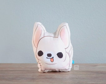 Chihuahua Pillow (Cream)