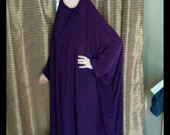 floor length overhead jilbab