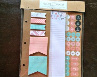 Planner Accessory - Page Flags - Planner Stickers - Target Dollar Spot - Planner Set - List Pad