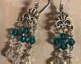 Dangle Teardrop Earrings
