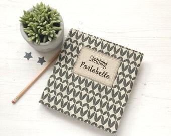 Personalised Sketchbook, Gift for Artist, Blank Journal, Blank Sketchbook,