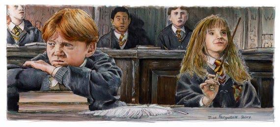 Harry Potter - It's leviOsa, not levioSA! Print