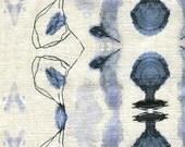 """REMNANT - Eskayel Bali Stripe Pillow- Indigo - Ready to ship! - 28"""" x 38"""""""