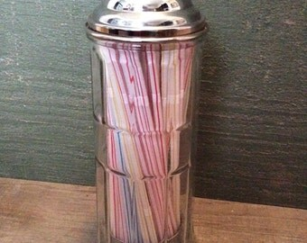 Diner Style Straw Dispenser by Table Craft