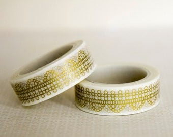 Masking tape, washi tape 15mm x 10 m 1 roll ornaments
