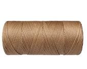 Waxed Polyester Cord - 1 spool - Macrame Cord - Jewelry Cord - Beige