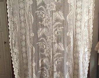 French Lace Curtains Etsy