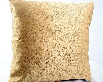 Gold accent pillows, Gold accent decor,  Sofa pillow cover, Winter room décor, Gold pillow case, Gold pillow