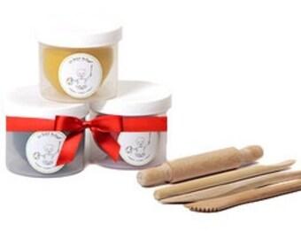 Playdough and Tools Set, Tactile Play Kit, Christmas Gift Set