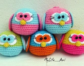 MyLife....Ami Owl Pattern English