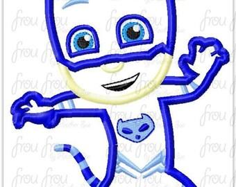 CatBoy P J Masks Inspired Birthday Custom Tee Shirt - Customizable - 6