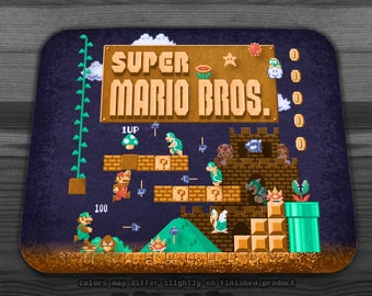Mario Super Bros  Mousepad