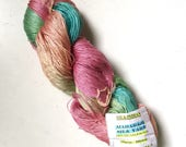 50% Off Mulberry Silk Lace Yarn 100g 800 Yards Himalayan Multicolor Pastels