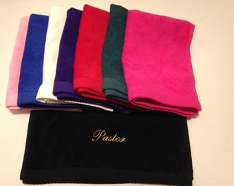 Pastor Towel  In 8 Colors