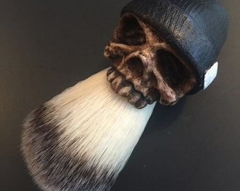 Beanie Shaving Brush (Black)