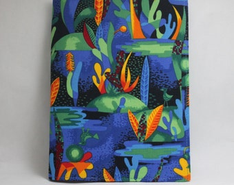 Blue notebook cover