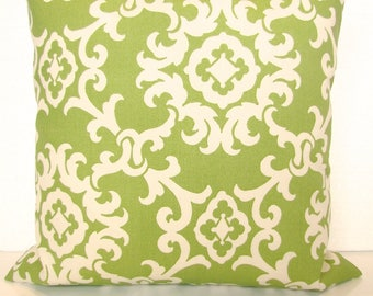 Lime green Outdoor Throw Pillow Covers Lime Outdoor pillow Covers 16x16 Green Tropical Pillows