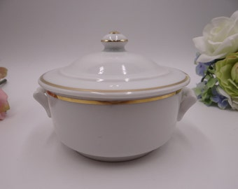Vintage French APILCO Charmart France Individual Casserole Covered Baker or Baking Dish