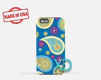 Paisley iPhone 6s Plus Case, Paisley iPhone SE Case, Cute Paisley iPhone Case, Cute Phone Case, Pastel Paisley Phone Case, Pastel Pasley