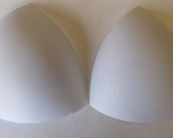 White foam Soft Bra Triangle Bra Cups