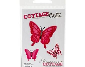 CottageCutz - Die - Lisbeth Butterfly - 2inX1.8in