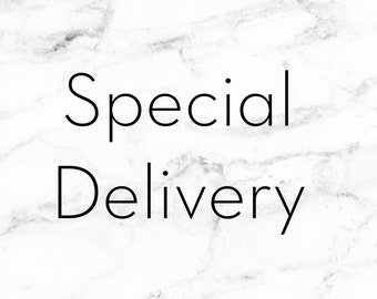 Special delivery UK guarenteed postage