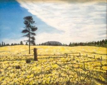 Yellow Fields Forever Original