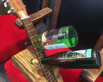 Guitar Neck Wine Rack