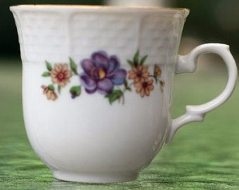 Thun China Cup and Saucer
