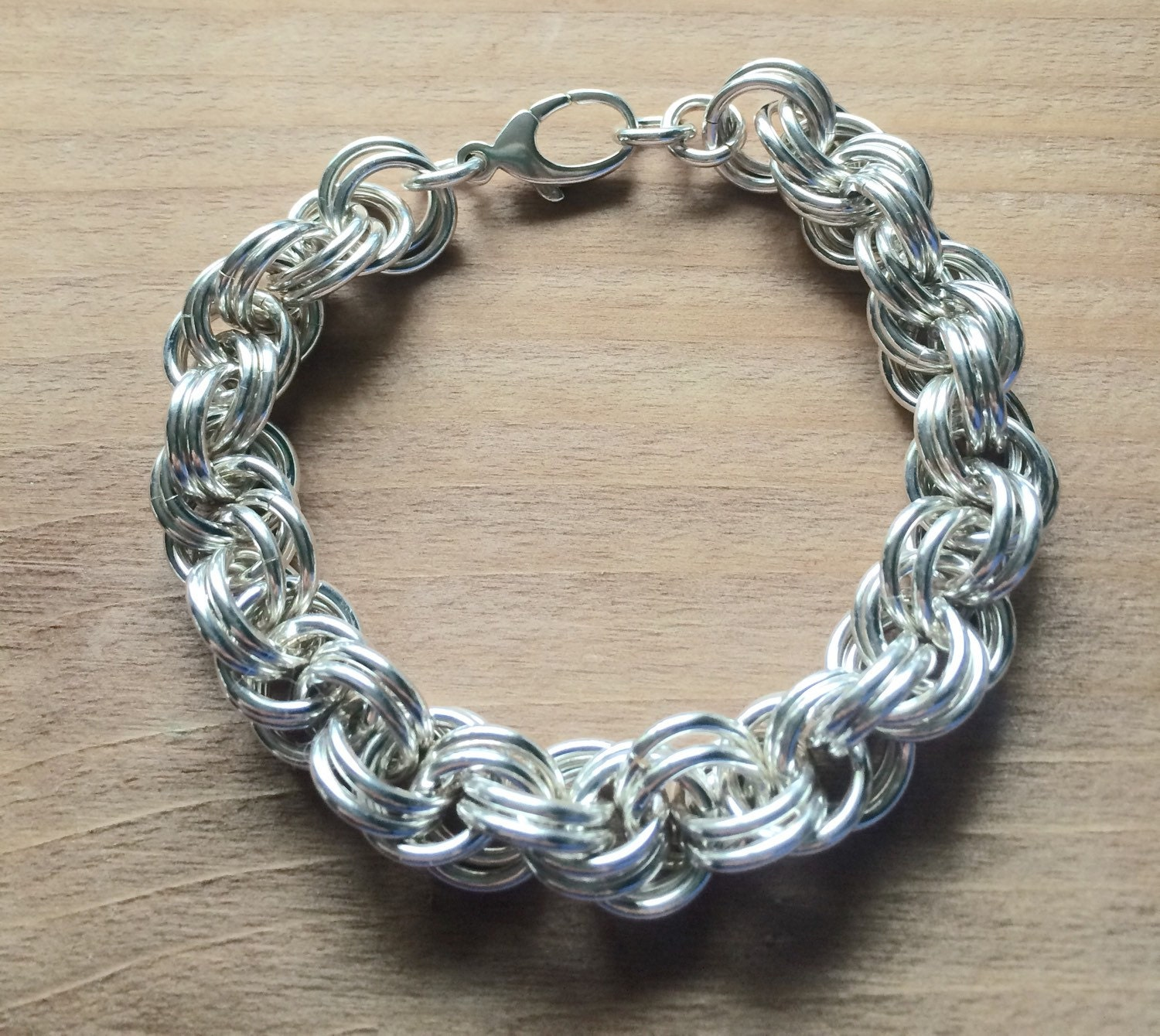 Crib for sale london ontario - Sterling Silver Rope Chainmail Bracelet Double Spiral Sterling Bracelet Made In Canada Chainmaille Jewellery Chainmail Jewellery London