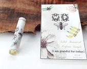 Natural Perfume sample, 2 BOTANICAL MINI Mix & Match samples Eco Friendly Fragrance Sample, perfume tester, Organic Fragrance Cruelty Free