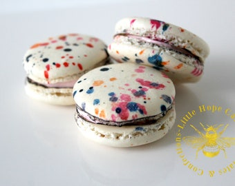 Fruity Candy French Macarons