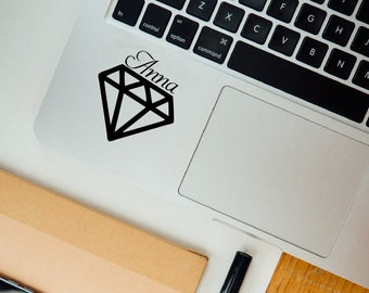 Name sticker jewel  diamond