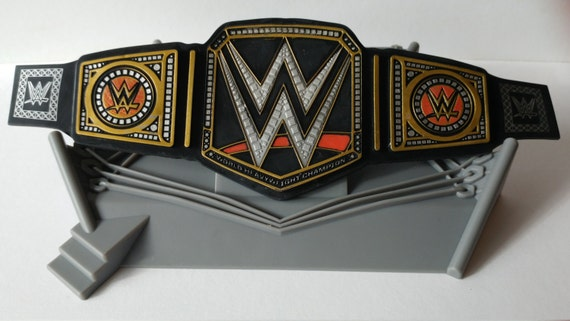 Wwe Championship Ring Cake Topper Includes Cupcake Pick
