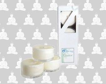 Organic Tea Lights - Cleanse - Rosemary & Thyme