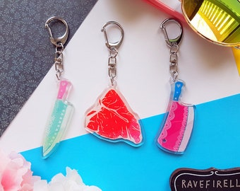Kawaii Knife Charms